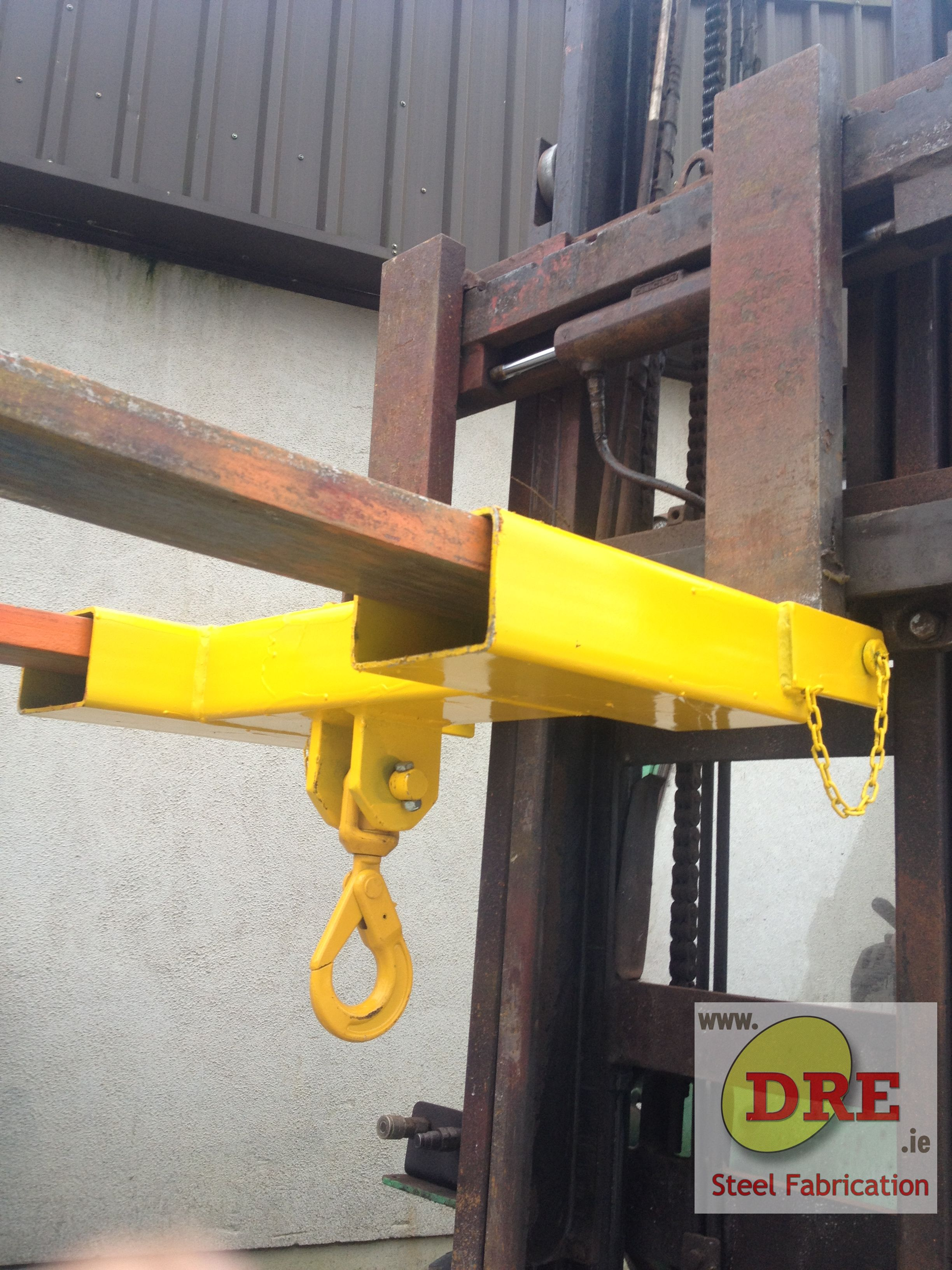 Fork Mounted Hook hire dre bunclody dre.ie ireland
